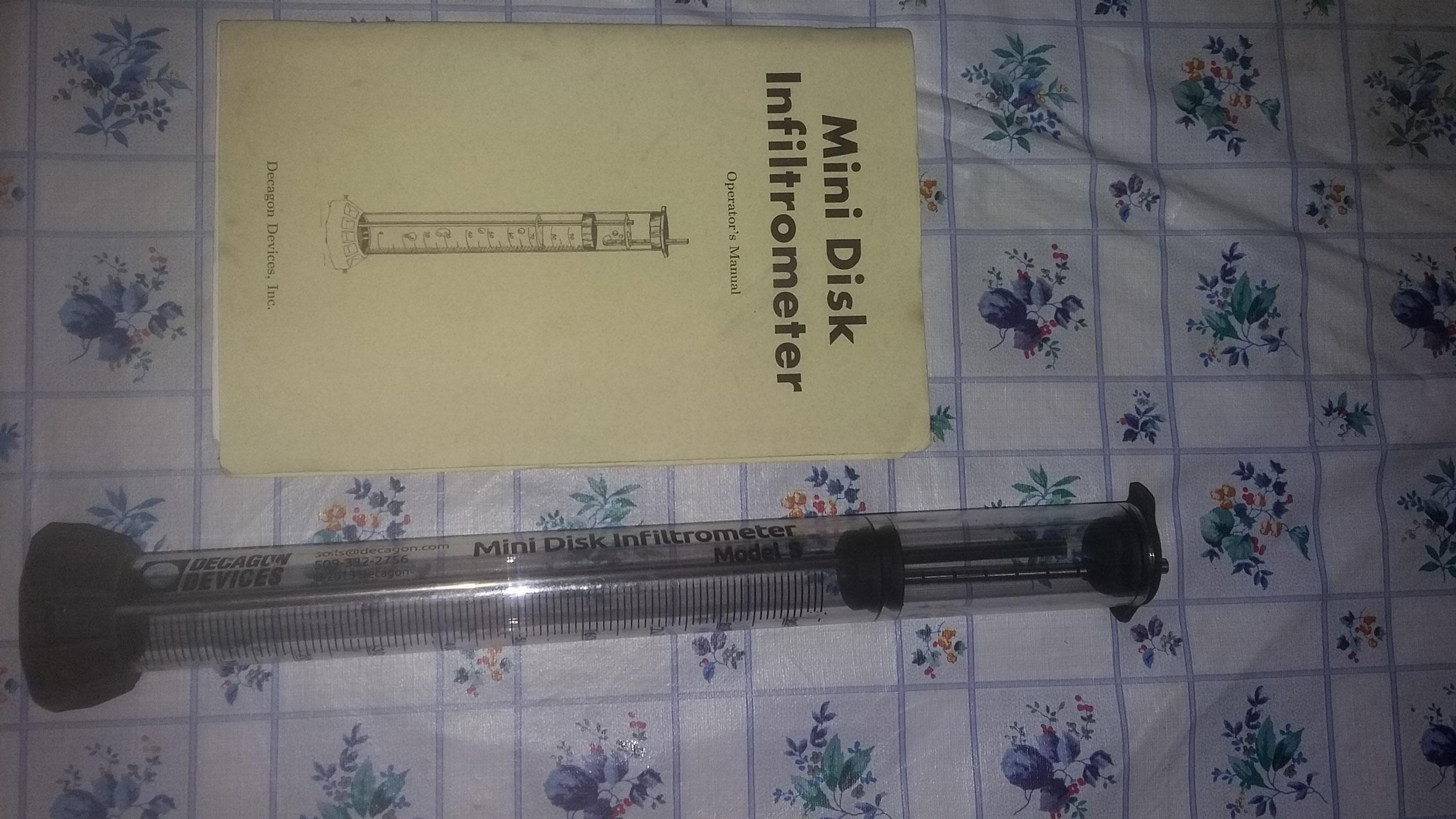 Infiltrometro MiniDis