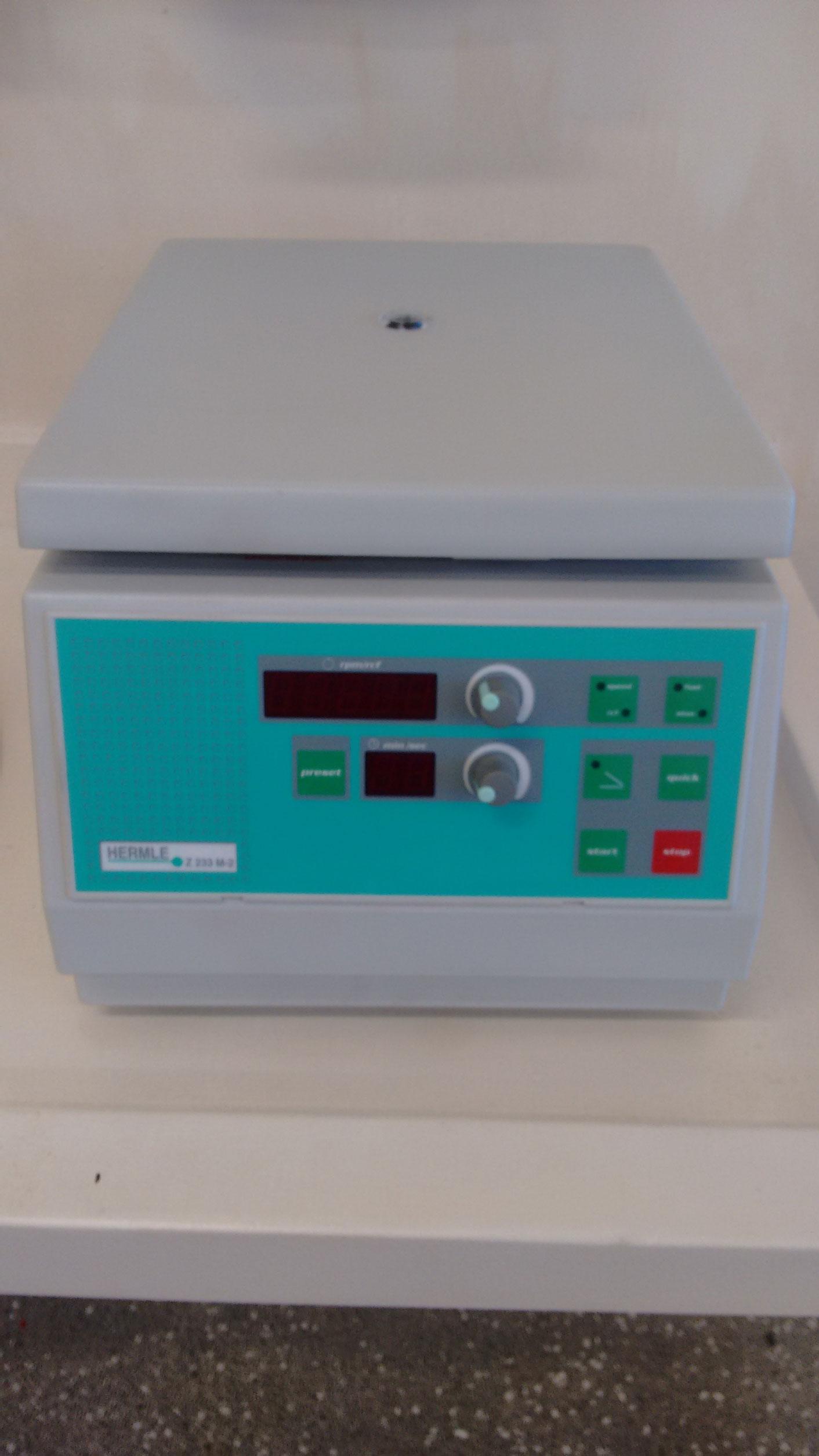 Microcentrífuga 15000 rpm
