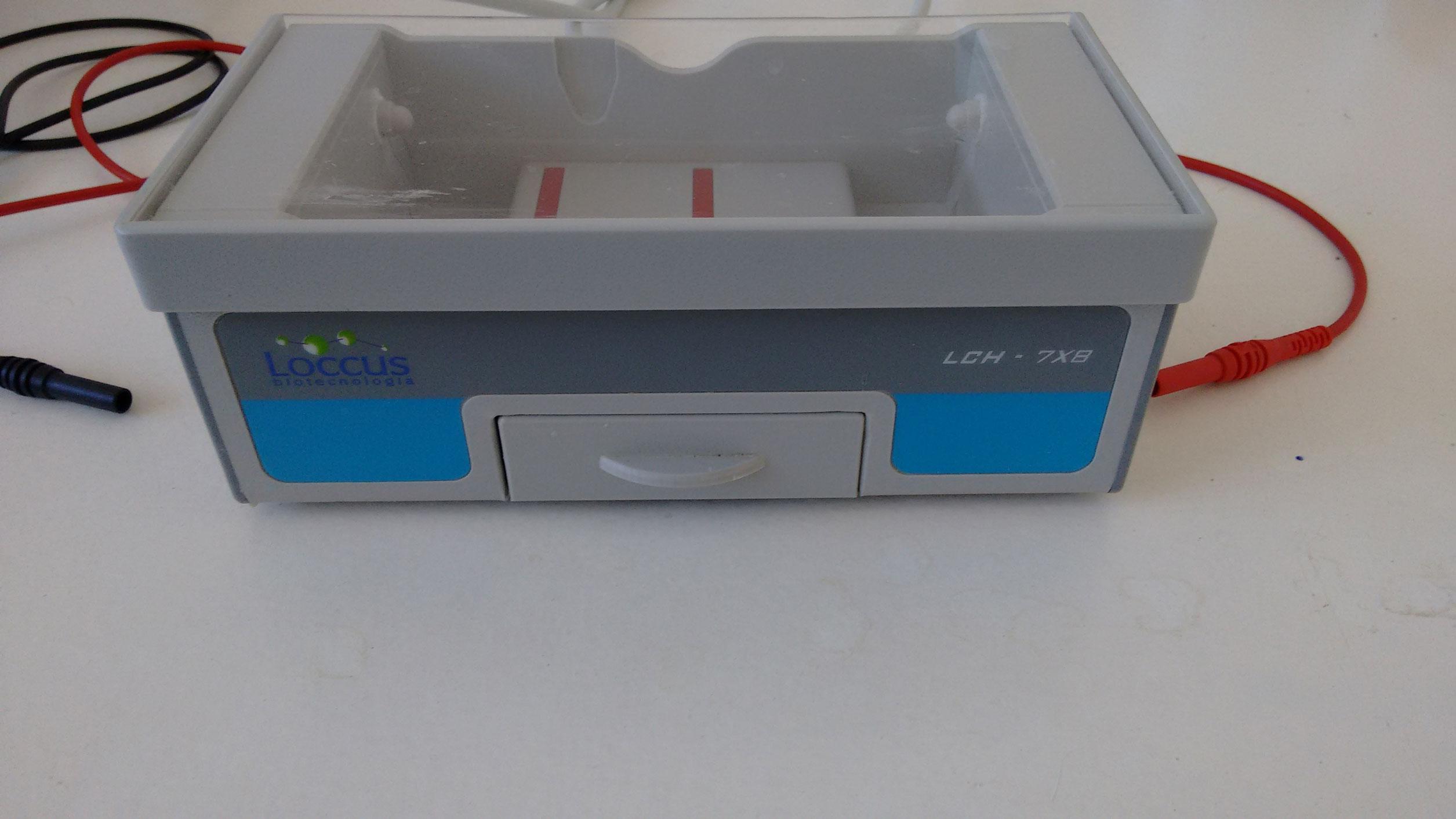 Sistema eletroforese pequen