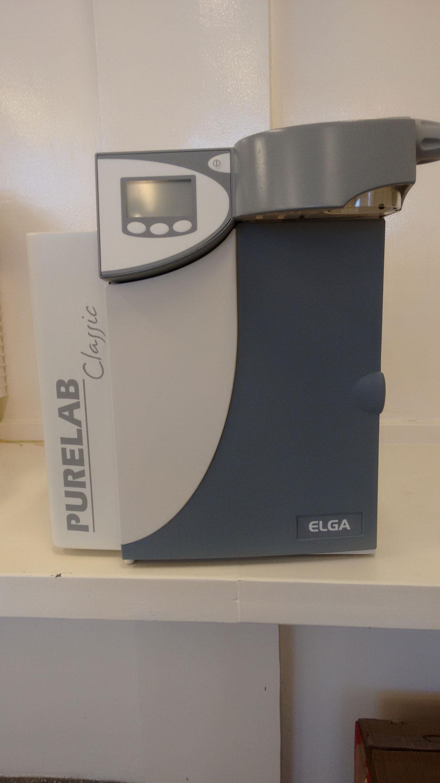 Sistema de ultrapurificação de águ