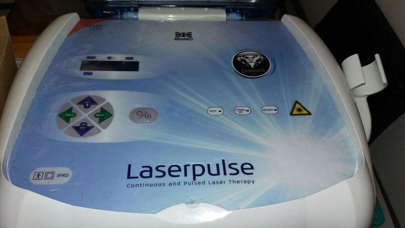 Aparelho de Laser terapia, Laserpulse Ibramed (Diamond