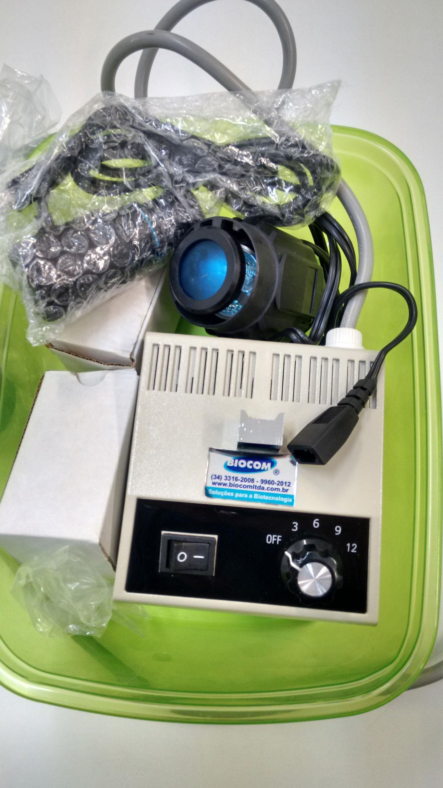 Camera Filmadora Para Microscopio, Saida Usb